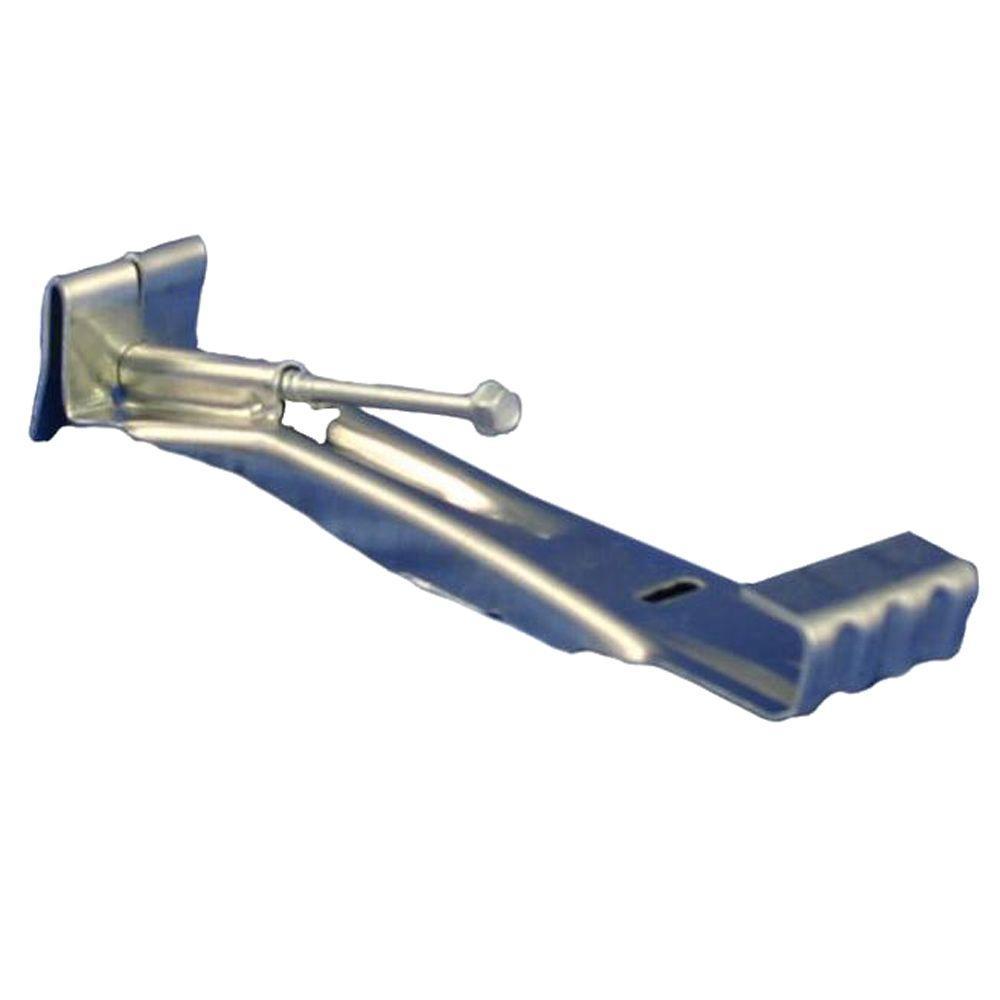 6 in. Aluminum Gutter Hidden Hanger with Screw