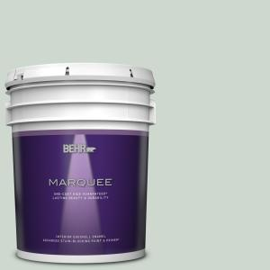 Behr Marquee 5 Gal Mq3 21 Breezeway One Coat Hide Eggshell Enamel Interior Paint Primer 245005 The Home Depot