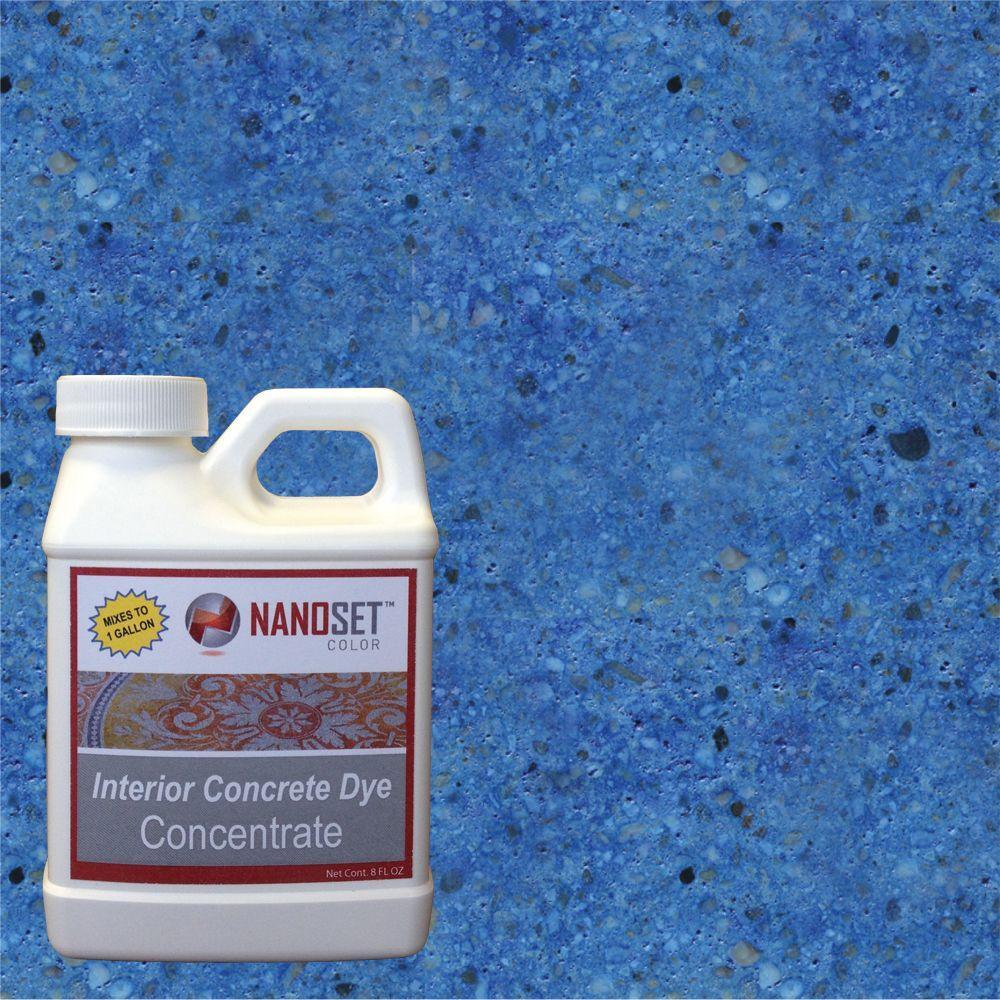 NanoSet Color 8-oz. Sapphire Interior Concrete Dye Stain Concentrate