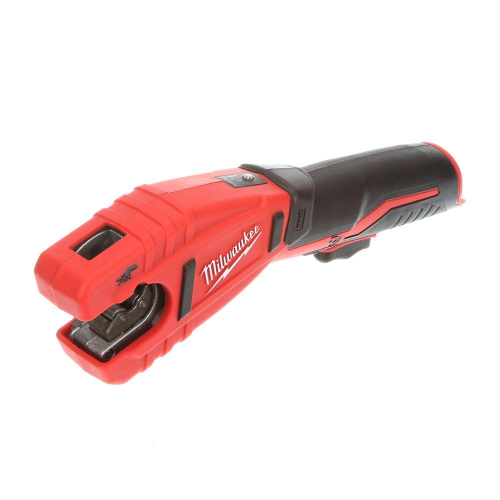 Milwaukee M12 12-Volt Lithium-Ion Cordless Copper Tubing Cutter ...
