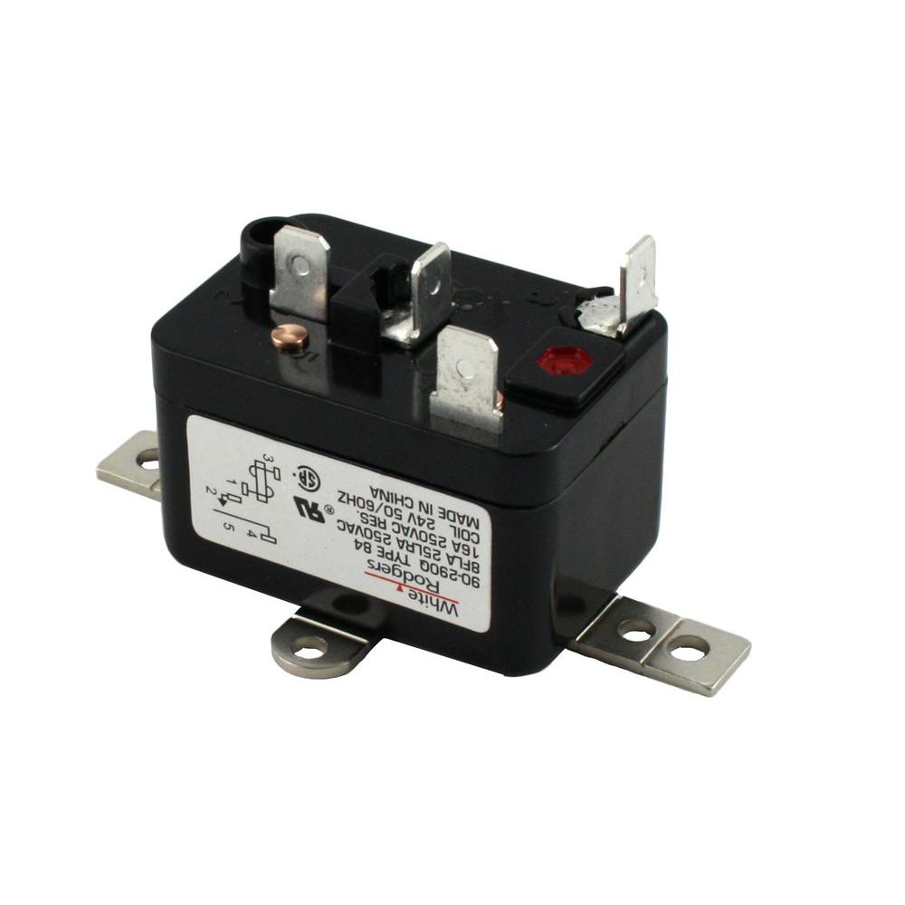 24-volt coil-voltage spno rbm type relay