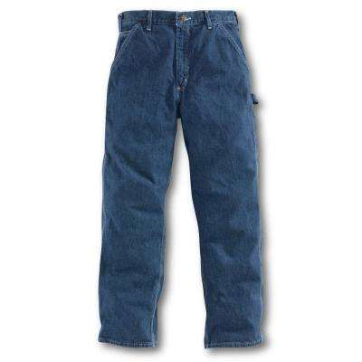 Men's 46x34 Deepstone Cotton Straight Leg Denim Bottoms