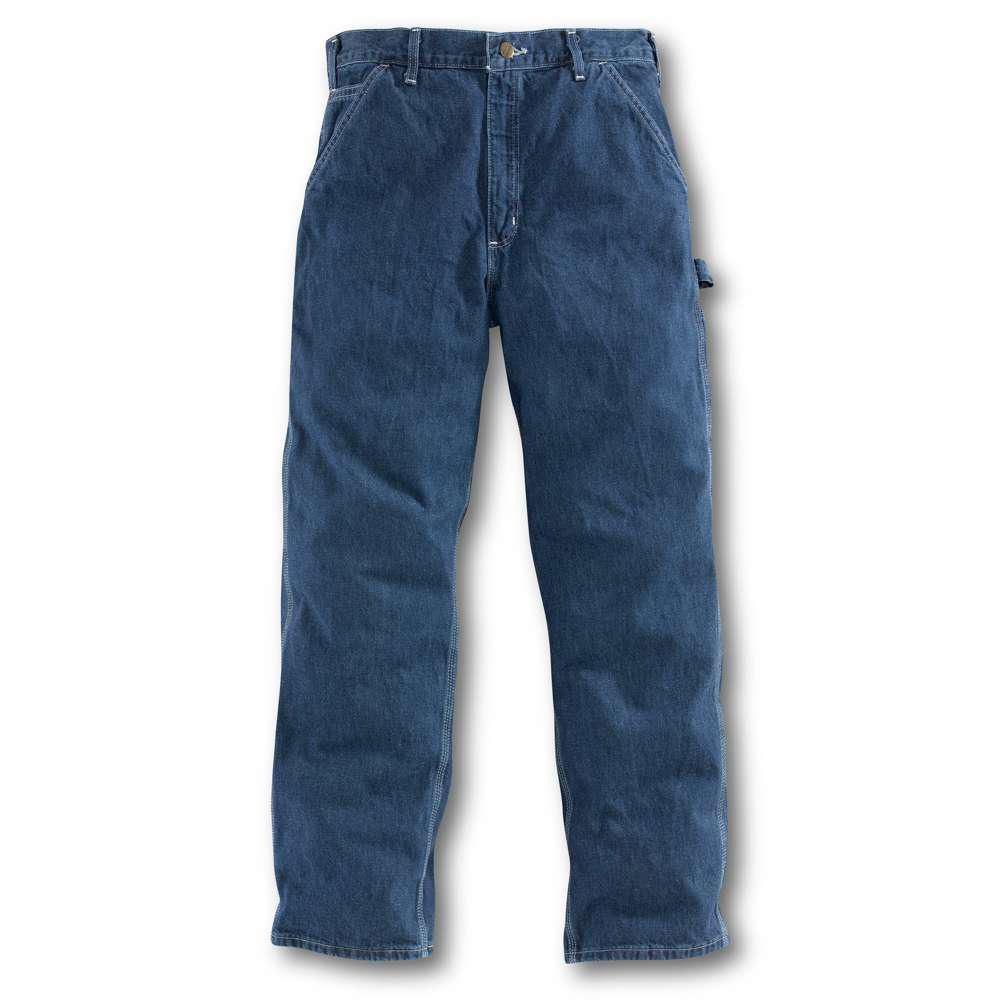 Men's 34 in. x 34 in. Deepstone Cotton Straight Leg Denim Bottoms