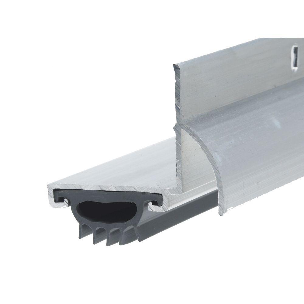 Frost King E/O 1-1/4 in. x 36 in. Silver L-Shaped Drip Cap Door Bottom