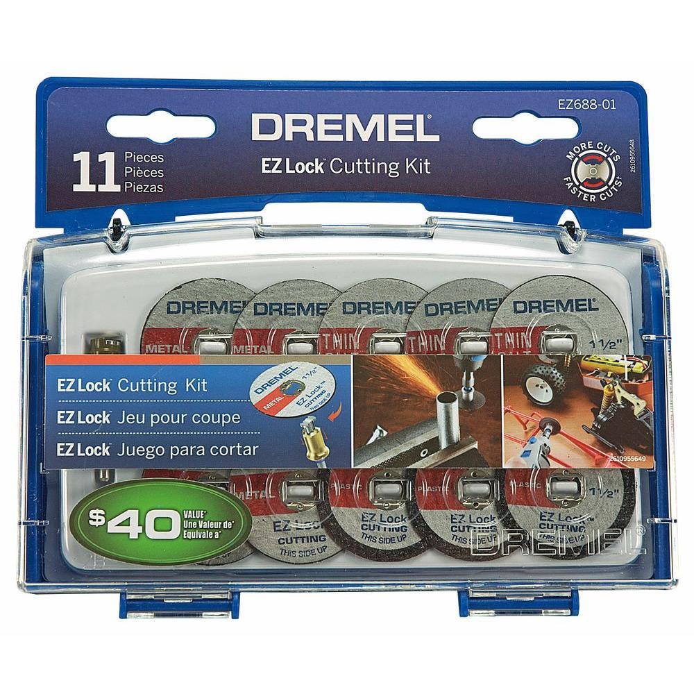 "NEW SALE 5 DREMEL EZ476 ROTARY POWER TOOL 1-1//2/"" EZ LOCK CUT-OFF WHEELS"