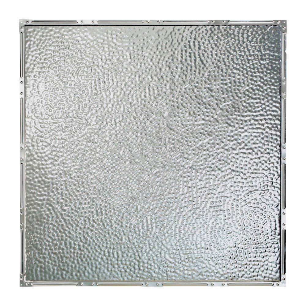 Great Lakes Tin Chicago 2 ft. x 2 ft. Nail-up Tin Ceiling Tile in Unfinished