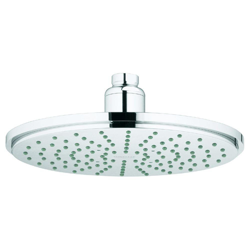 GROHE Rainshower Cosmopolitan 1-Spray 8 in. Raincan Shower Head in ...