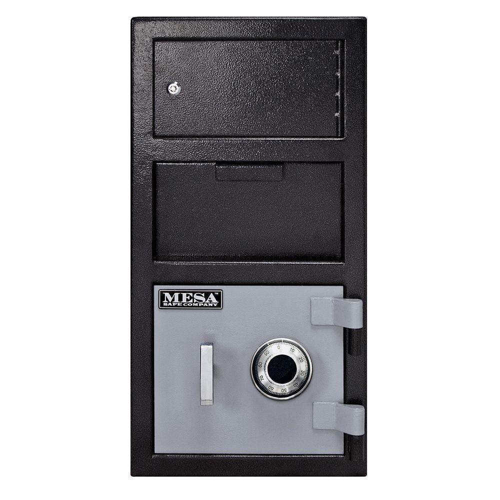 Combination Lock Depository Safe With Outer Locker