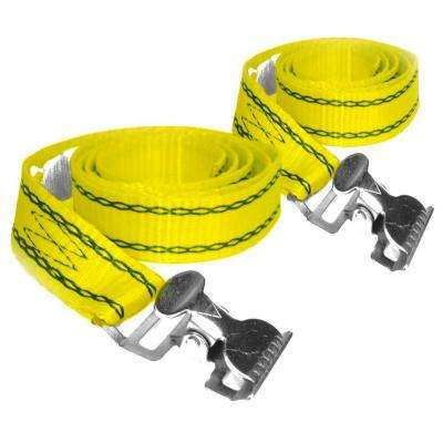 4 ft. x 1 in. 500 lbs. Ladder Strap (2 per Pack)