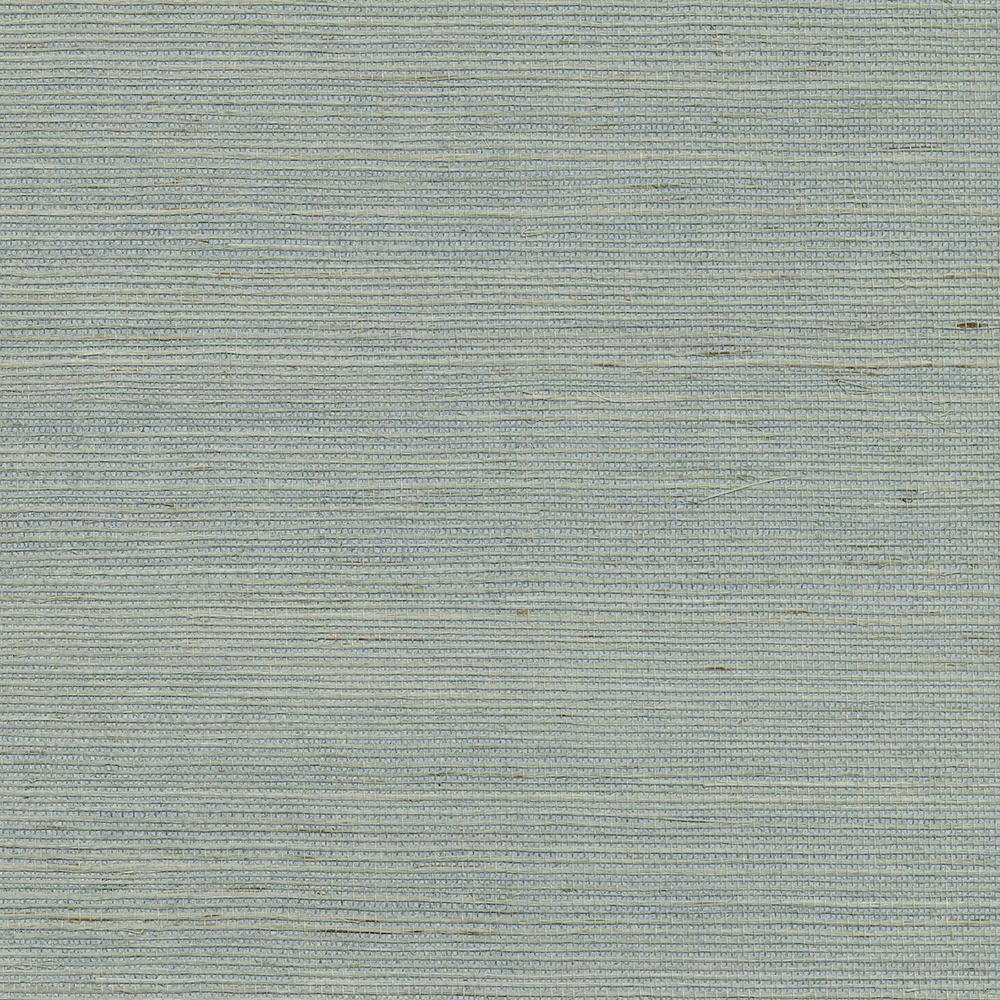 Zhejiang Aquamarine Grasscloth Wallpaper Sample