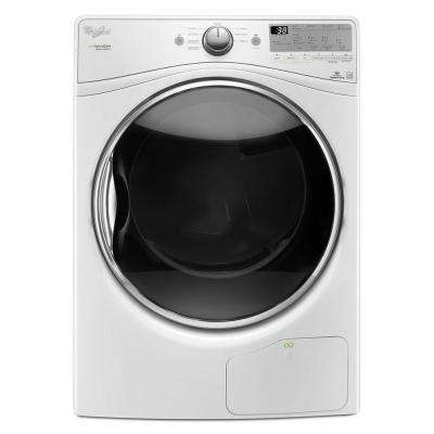7.4 cu. ft. Ventless Electric Dryer with Heat Pump Technology in White