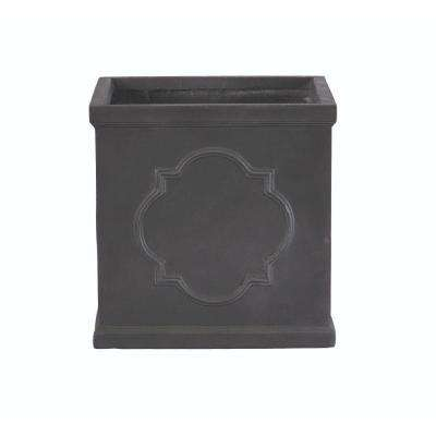 Quarterfoil 19 in. H x 22 in. Square Resin Planter