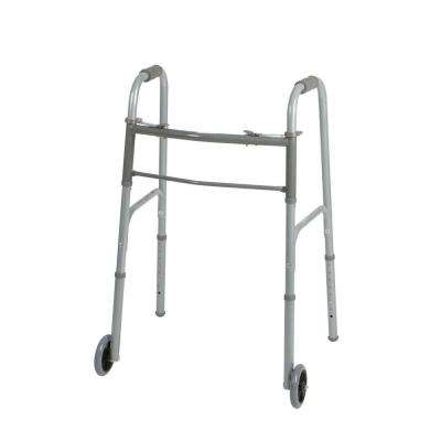 2-Button Adult Folding Walker