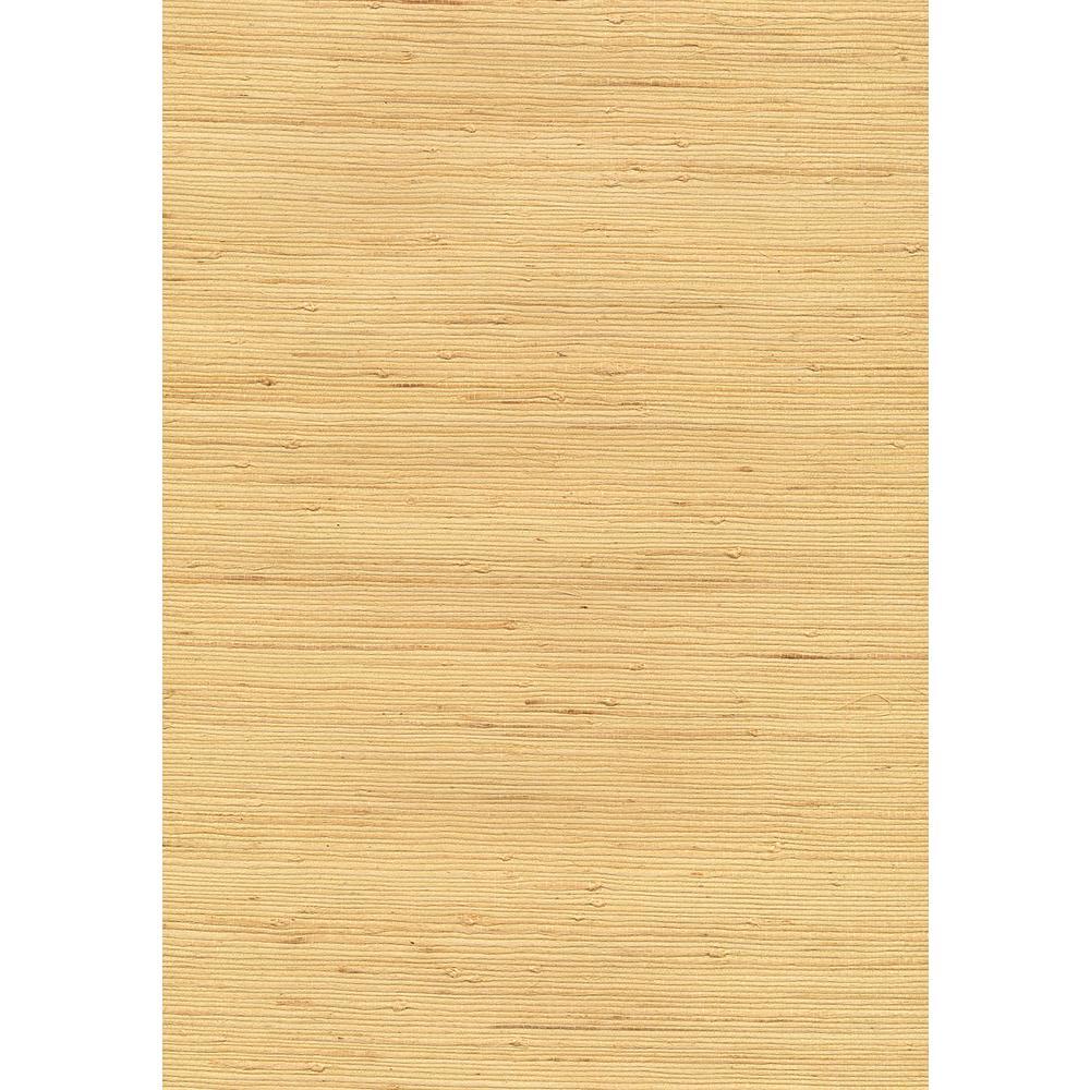 Kenneth James 72 sq. ft. Kazue Neutral Grasscloth Wallpaper, Beige