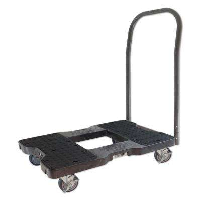 1500 lb. Capacity Push Cart Dolly in Black