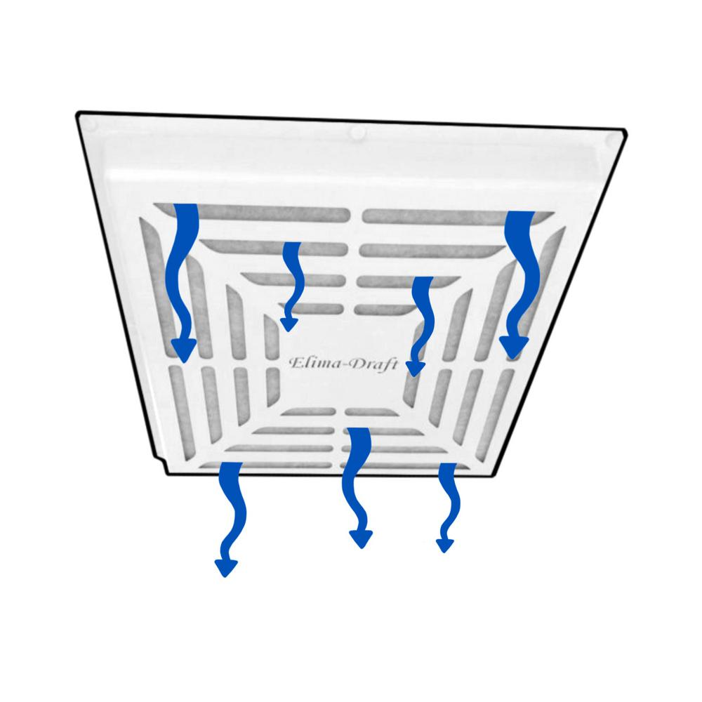 Elima-Draft Commercial Filtration Cover For 24 in. x 24 in. Diffuser