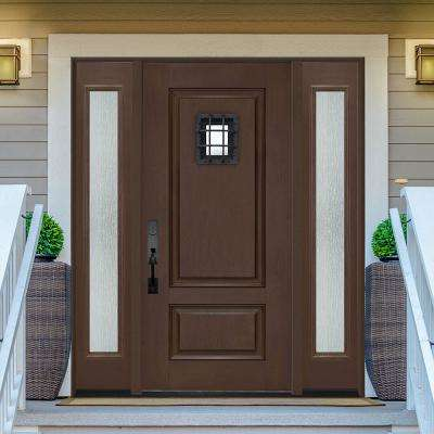 Regency Textured Panel Customizable Fiberglass Door Collection