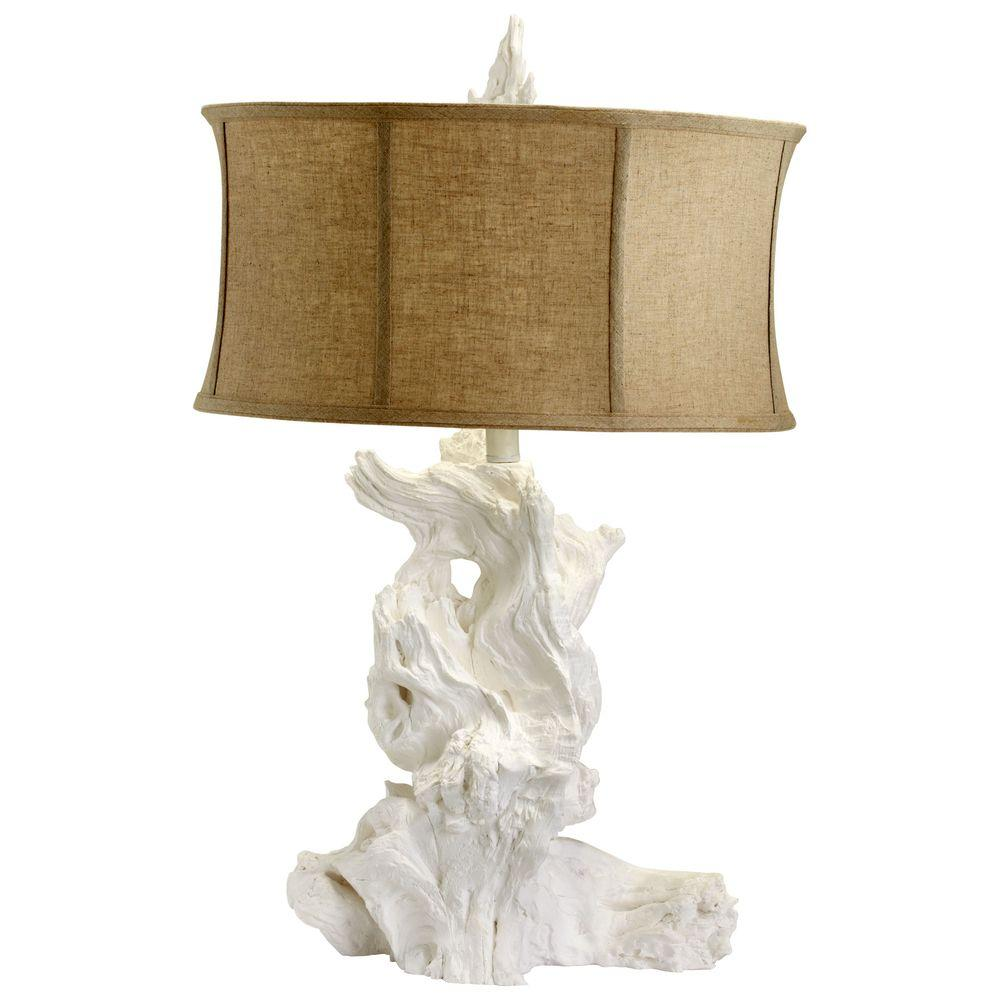 Filament Design Prospect 30.5 in. White Table Lamp