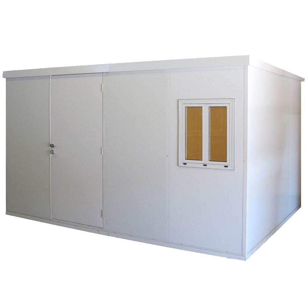 Duramax Building Products 13 ft. x 10 ft. PU Insulated Building Shed