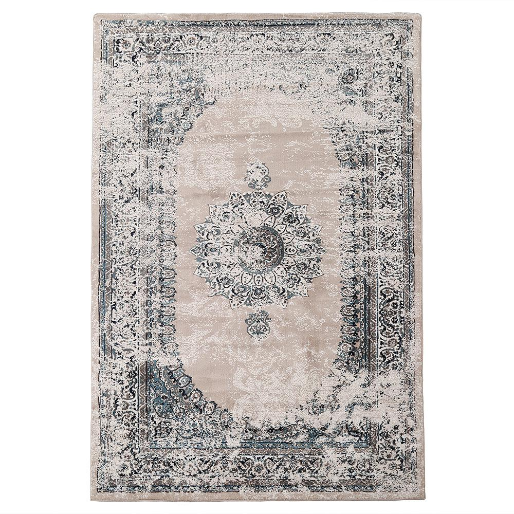 LNC Gray/Teal 8 Ft. X 10 Ft. Area Rug-A034492