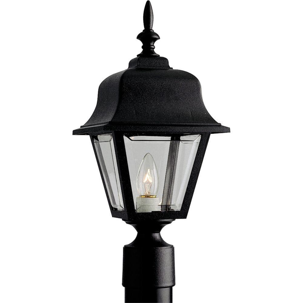 Outdoor Black Post Lantern