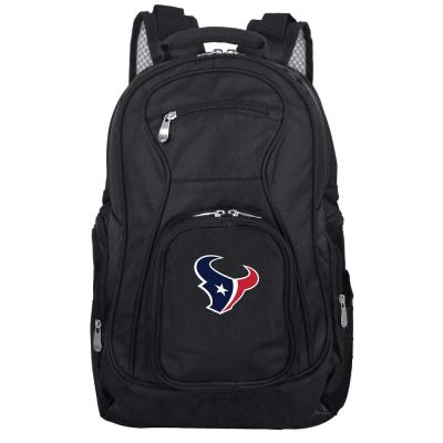 Denco NFL Houston Texans Laptop Backpack, Black