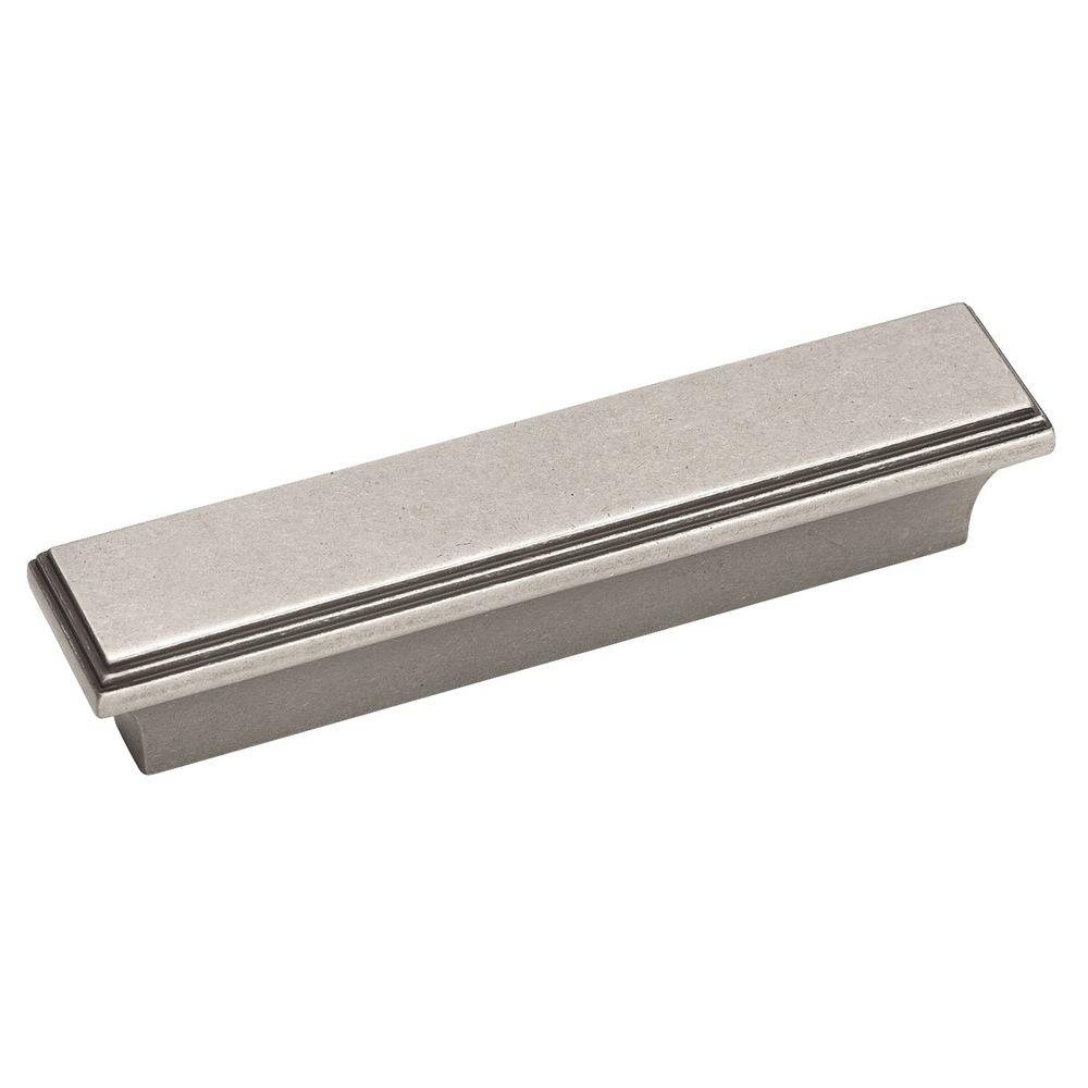 Amerock Manor 3 in. Weathered Nickel Pull