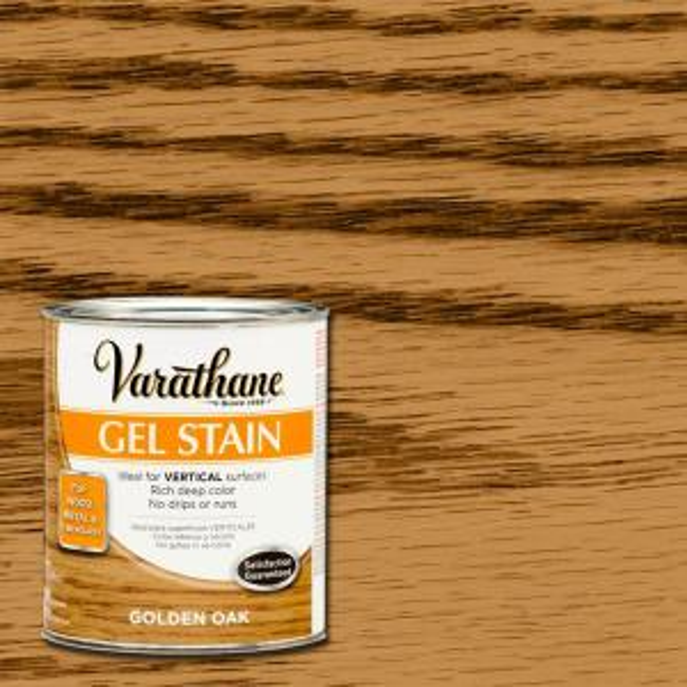 Varathane 1 Qt Golden Oak Gel Stain Case Of 2 266339