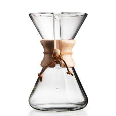 Hand Blown 8-Cup Coffee Maker