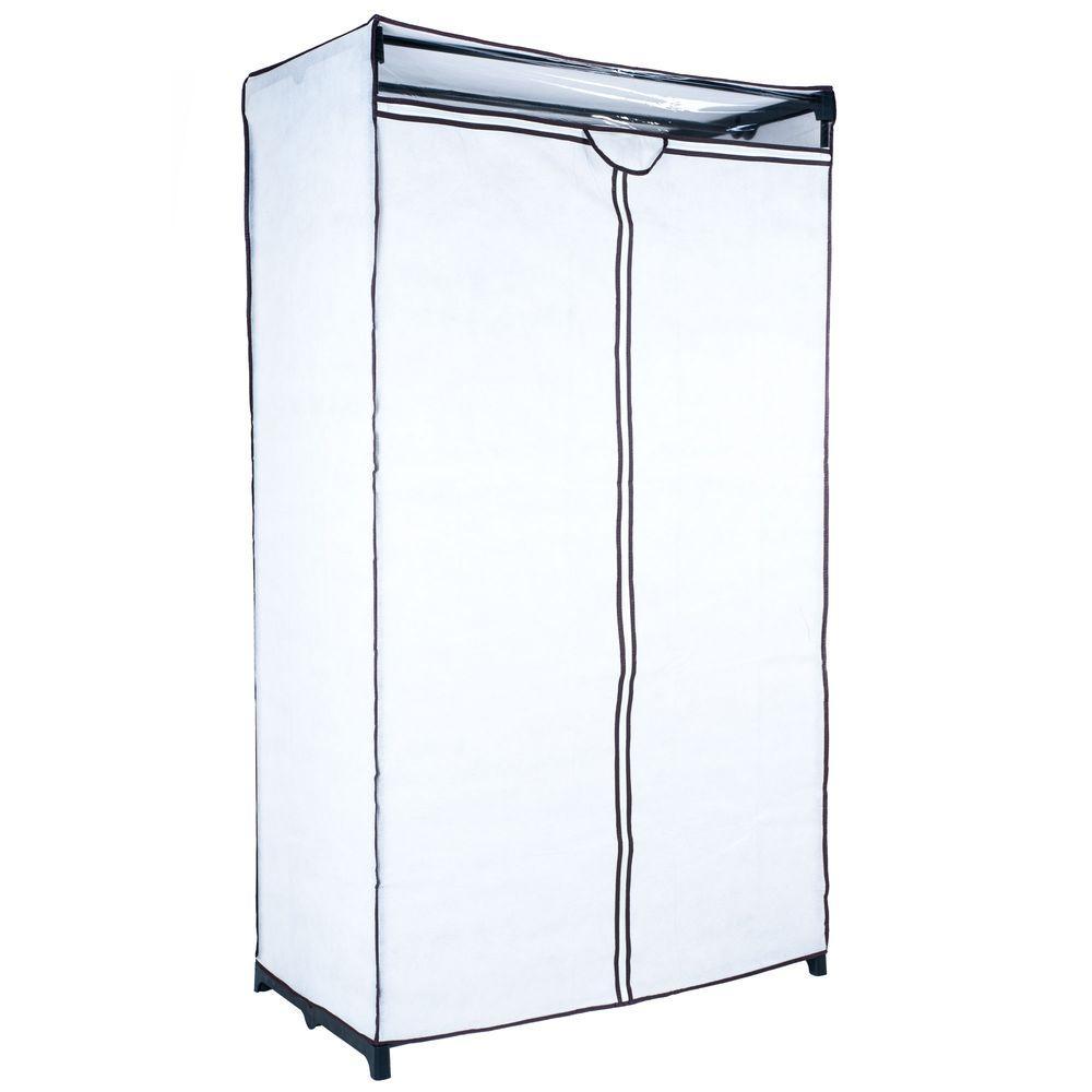 Trademark Home White Portable Closet