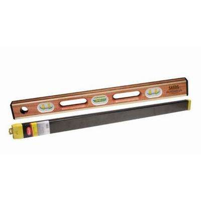 48 in. Professional Brass Bound Level with Case