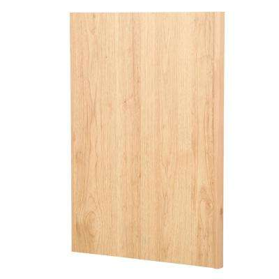 1.5x34.5x24 in. Dishwasher End Panel in Natural Hickory