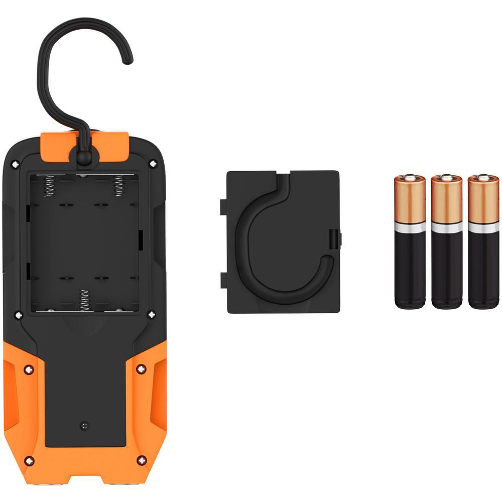 COB LED Work Light Flashlight with Magnetic Base and Hanging Hook