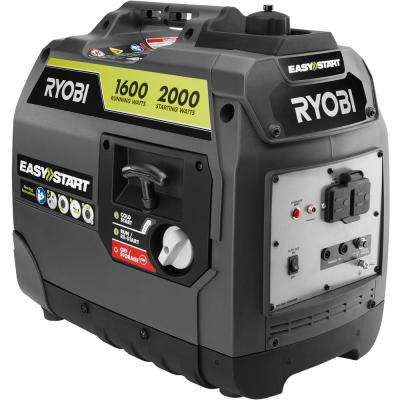 2,000-Watt Gray Gasoline Powered Digital Inverter Generator