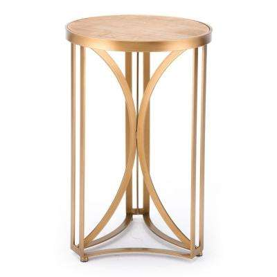 Spinner Gold Small Table