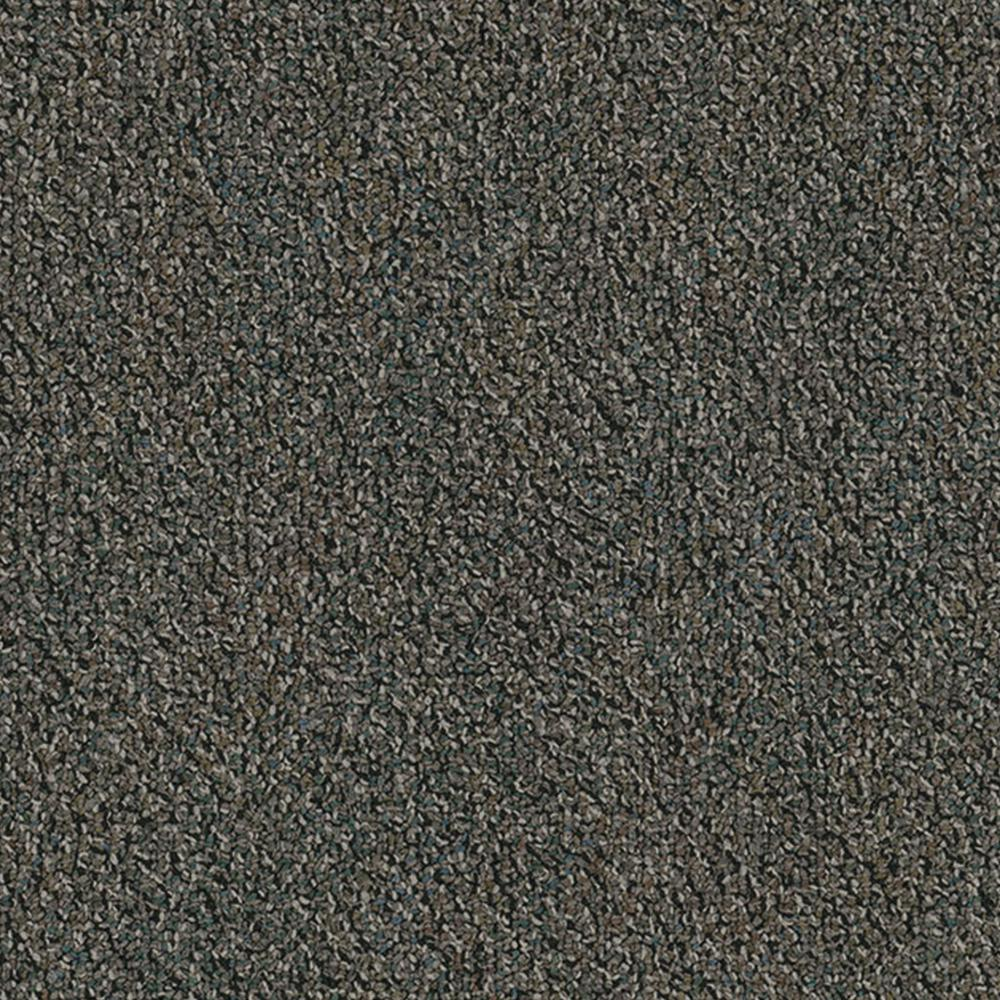 Developer Concrete 24 in. x 24 in. Carpet Tile Kit (18