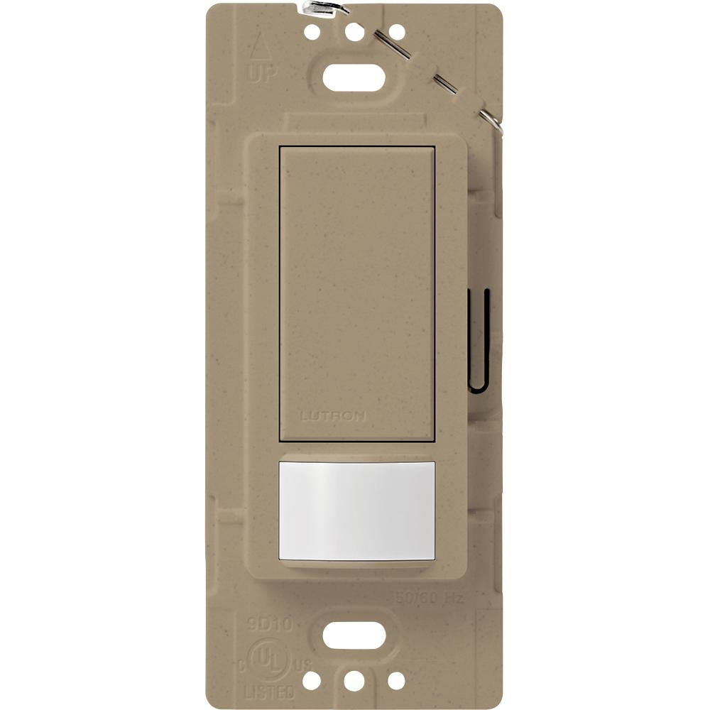 Lutron Maestro Motion Sensor switch, 2-Amp, Single-Pole, Mocha Stone