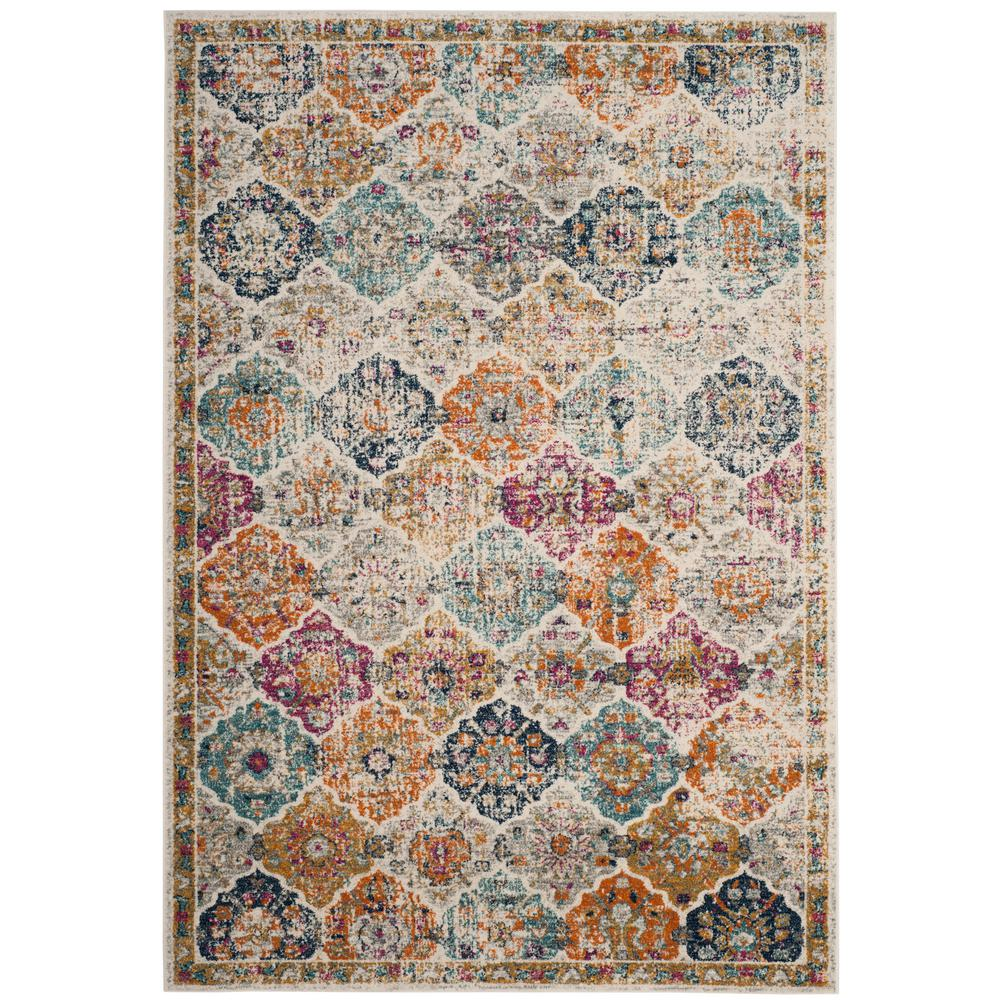 Safavieh Madison Cream Multi 8 Ft X 10 Area Rug