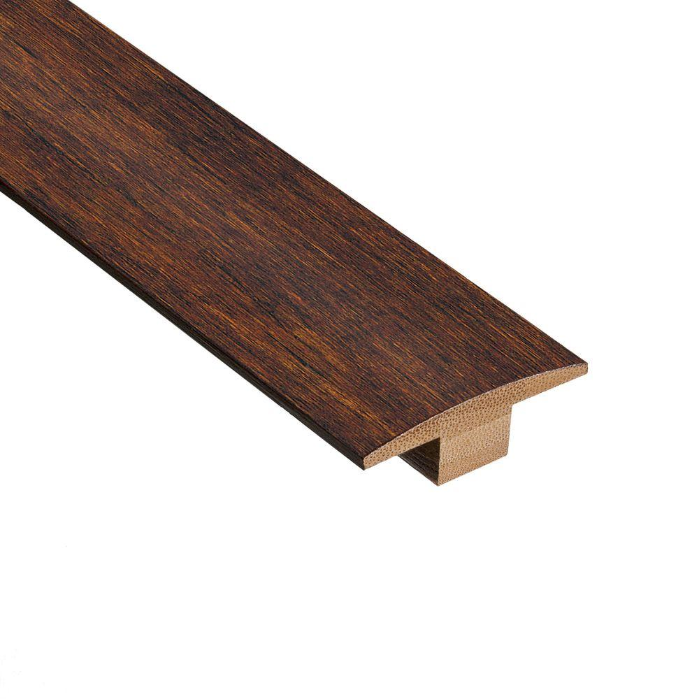 Home Legend Strand Woven Java 9/16 in. Thick x 1-7/8 in. Wide x 78 in. Length Bamboo T-Molding