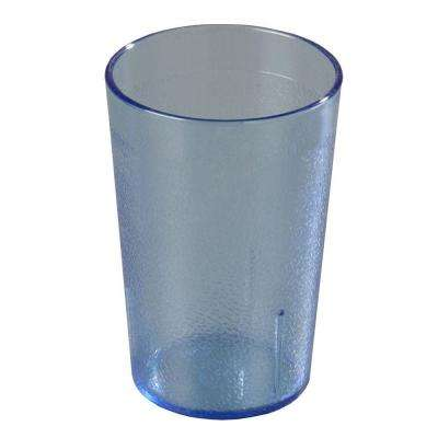 9.5 oz. SAN Plastic Stackable Tumbler in Blue (Case of 72)