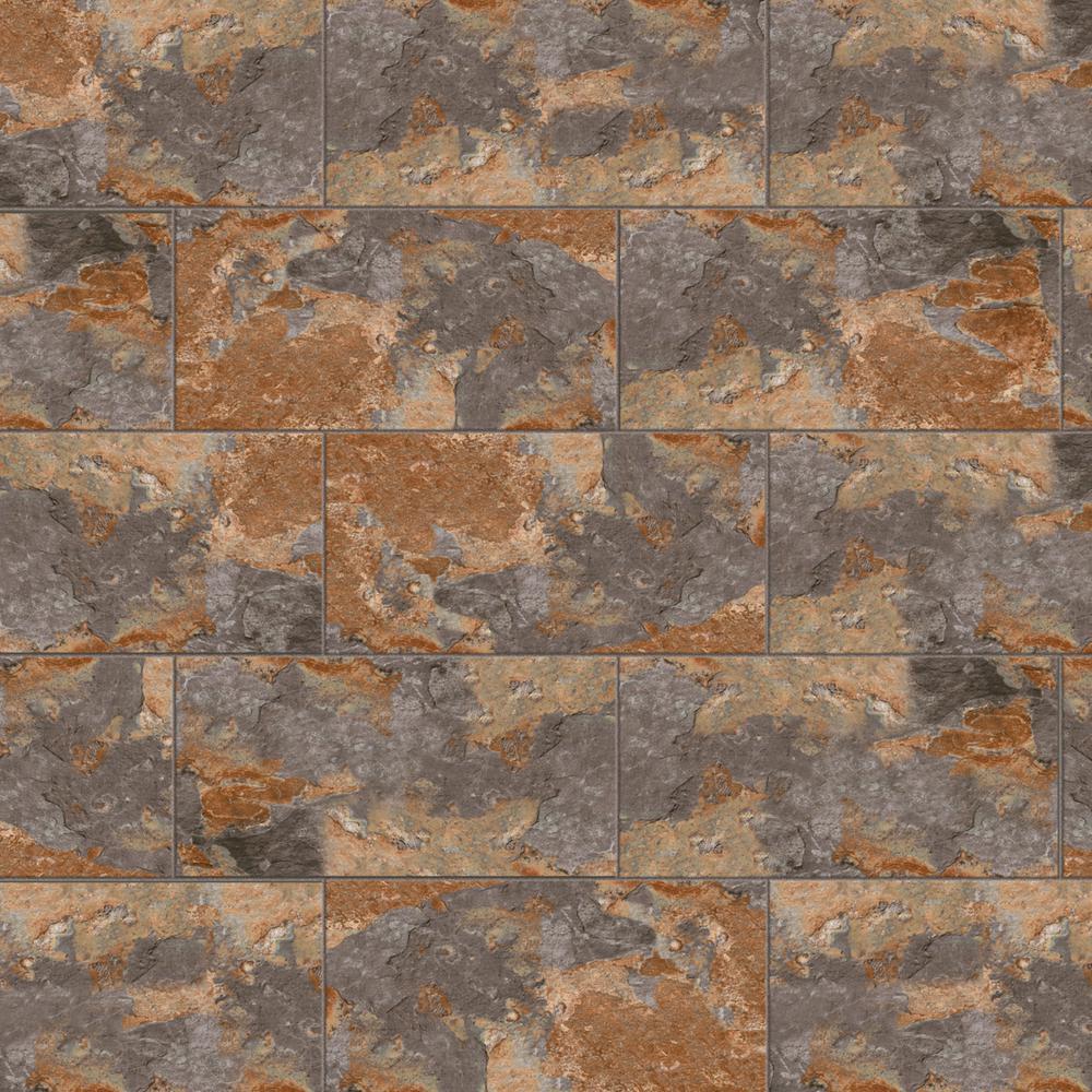 Marazzi VitaElegante Ardesia 12 in. x 24 in. Porcelain Floor and Wall Tile (15.6 sq. ft. / case) -  ULRV1224HD1PR