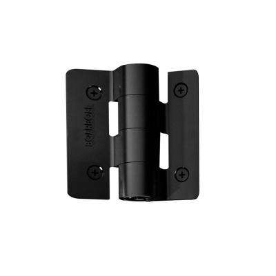 3.25 in. Black Compact Butterfly Hinge Kit (2-Pack)