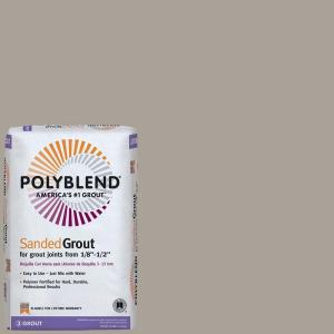 Polyblend #543 Driftwood 25 lb. Sanded Grout