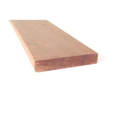 2 in. x 6 in. x 8 ft. IPE S4S E4E Decking Board (2-Pack)