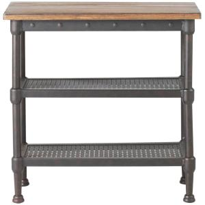 Home Decorators Collection Gentry Distressed Oak End Table by Home Decorators Collection
