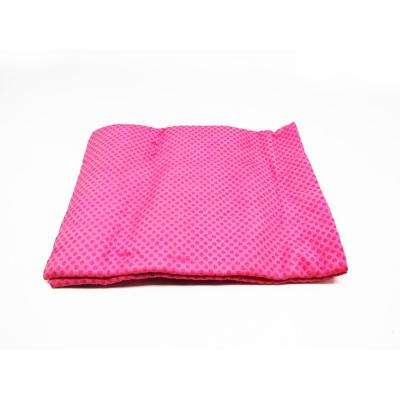 32 in. x 8 in. Cooling Towel in Pink