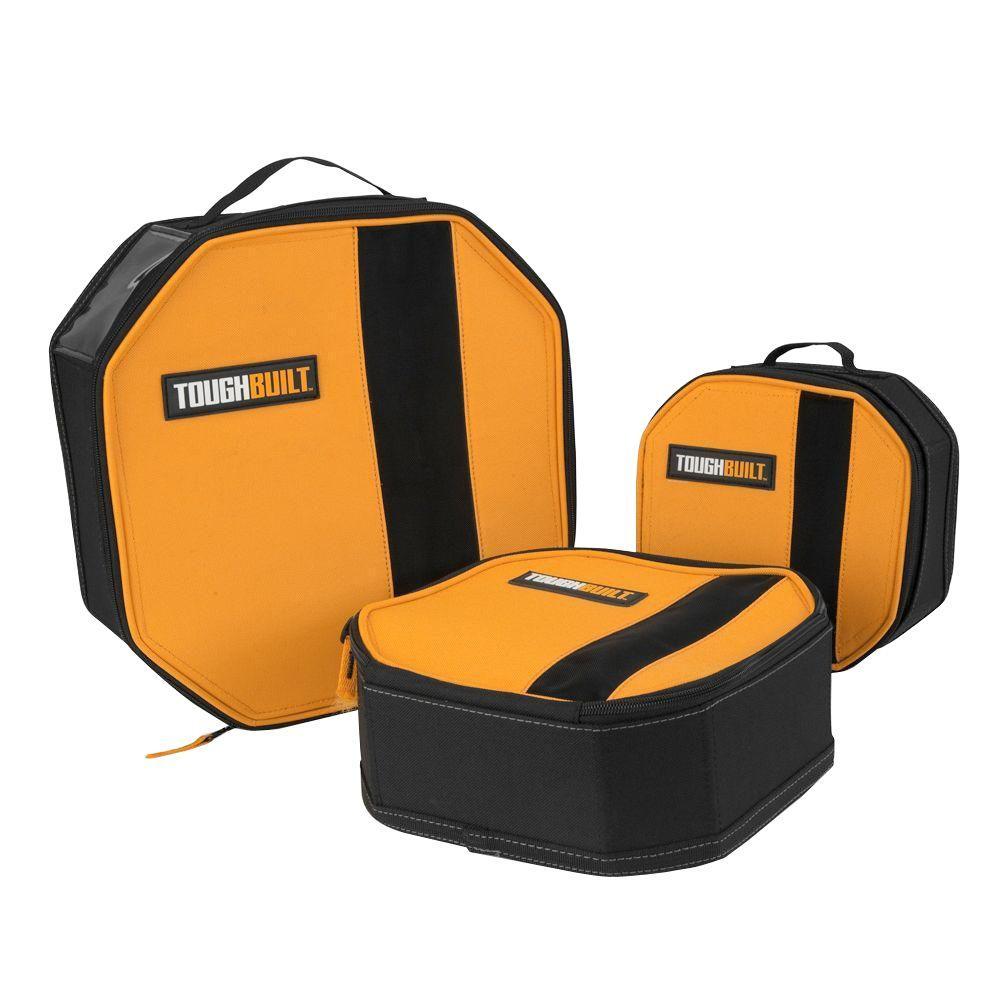 Tool Mate 5.5 in. Soft Box Tool Storage Bag in Black