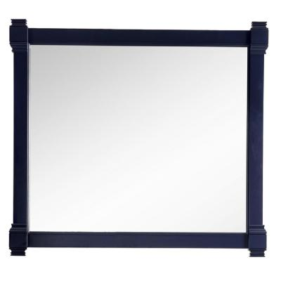 Brittany 43 in. W x 39.25 in. H Framed Wall Mirror in Victory Blue