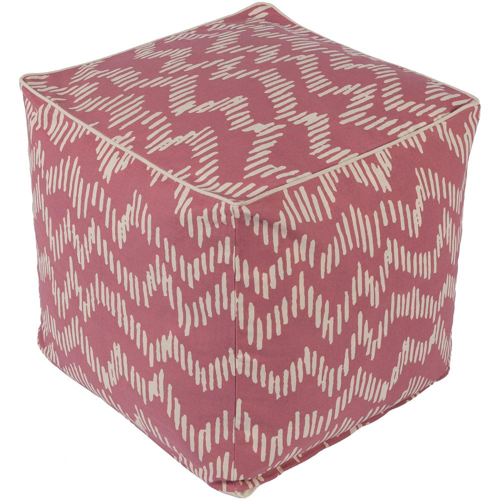Artistic Weavers Mirembe Rose (Pink) Accent Pouf