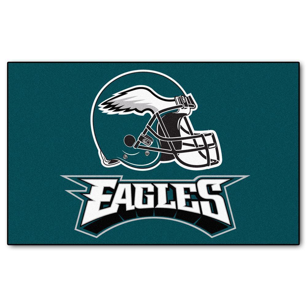 FANMATS Philadelphia Eagles 5 ft. x 8 ft. Ulti-Mat
